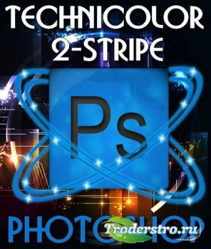 Эффект Technicolor 2-stripe в 2-х частях (2015)