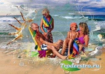 Фоторамка - Райский отдых на пляже