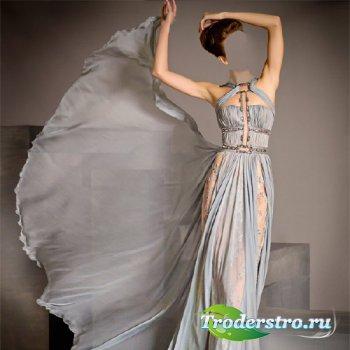 Шаблон для фото - Фотосет в красивом платье