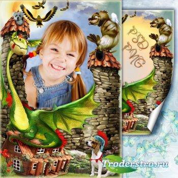 Рамка для фото - Приключения в сказочной стране