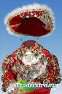 Исторический фотошоп шаблон для девочек – Храбрая герцогиня