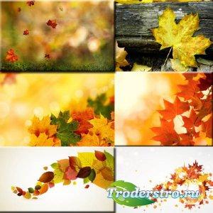 Растровый клипарт - Осенний листопад