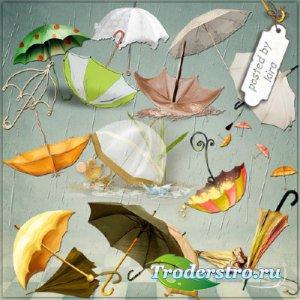 Клипарт - Зонты в png