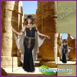 Шаблон для фотошопа - Царица Египта