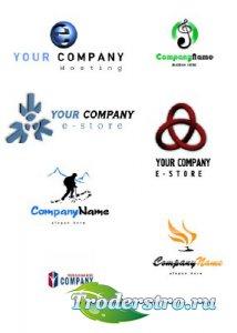 Двести логотипов для компаний и фирм