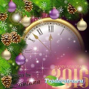 PSD исходник - Волшебный праздник новогодний 19