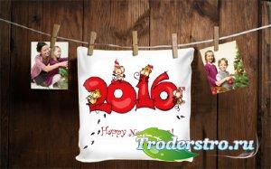 Рамка для оформления - С Новым 2016 годом