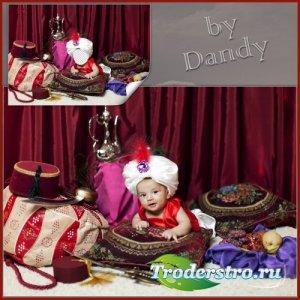 Шаблон для мальчика - Маленький султан
