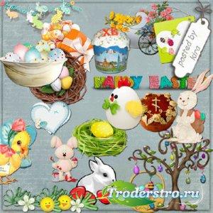 Клипарт - Пасха, пасхальные яйца, часть 3