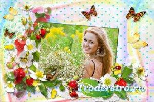 Рамка для фотошопа - Наступило лето