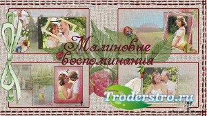 Проект для ProShow Producer - Малиновые воспоминания