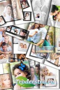 Фотокнига для фотошопа - Прекрасные мгновения