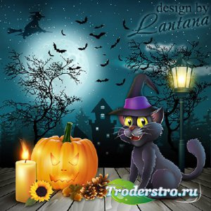 Psd исходник - Ночь колдовства, чудес и страхов