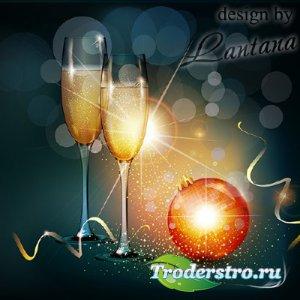 PSD исходник - Новый год нам дарит волшебство 7