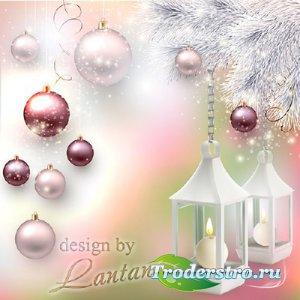 PSD исходник - Новый год нам дарит волшебство 10