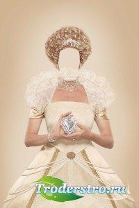 Шаблон женский для фотошопа – Великая королева