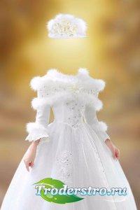 Женский шаблон для фотошопа – Королева бала