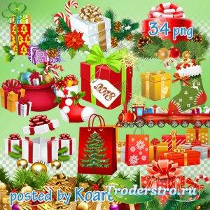 Клипарт png на прозрачном фоне для фотошопа - Новогодние и рождественские п ...