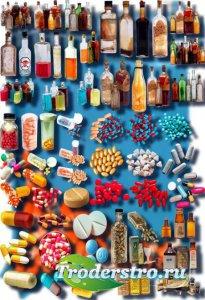 Новые клипарты Png - Лекарства
