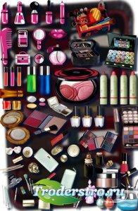 Клипарты для фотошопа - Женская косметика