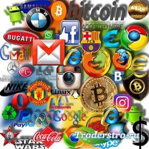 Клипарты для фотошопа - Логотипы компаний и фирм