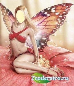 Фотошаблон для девушки - Красивый эльф