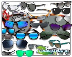 Клипарты на прозрачном фоне - Солнцезащитные очки