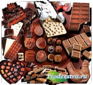 Растровые клипарты - Шоколад