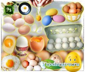 Растровые клип-арты - Яйца и яишница