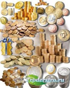 Коллекция Png клип-артов - Монеты