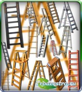 Клипарты для фотошопа - Лестницы