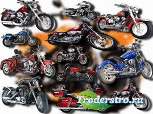 Клипарты на прозрачном фоне - Harley davidson