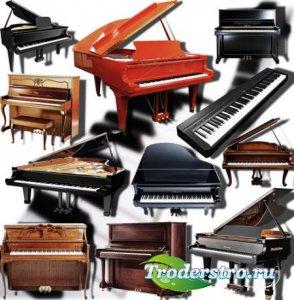 Png Клип-арты - Пианино