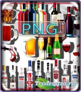 Клипарты png без фона - Алкогольные напитки