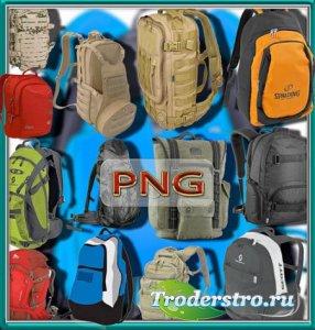 Фотошоп Png клипарты - Яркие рюкзаки