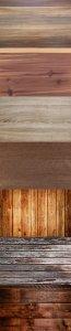 Растровые фоны - Деревянные покрытия