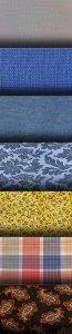 Растровые фоны - Цветные ткани