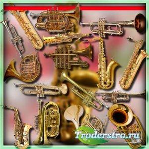 Клипарты для рамок - Саксофоны