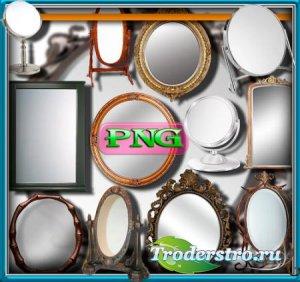 Png клип-арты - Зеркала