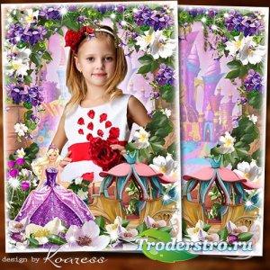 Фоторамка для детских портретов - В сказочной стране
