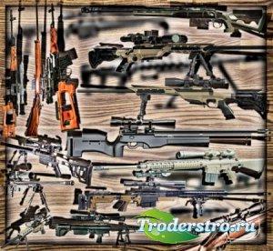 Растровые клип-арты - Снайперские винтовки