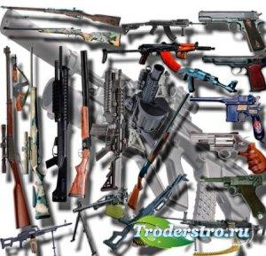 Png клип-арты - Огнестрельное оружие
