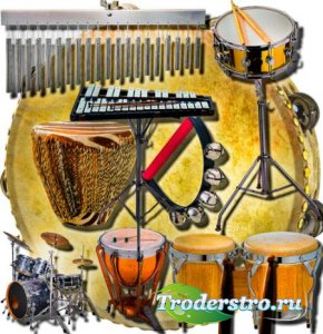 Png клип-арты - Музыкальные инструменты