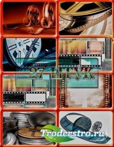 Растровые клип-арты - Кинопленка