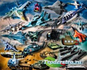 Растровые клип-арты - Военная техника