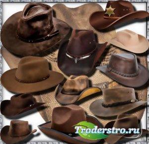 Клипарты без фона - Американская шляпа