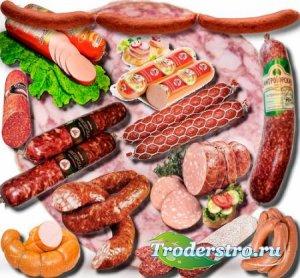 Качественные клипарты - Колбаса разных сортов