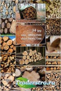 Wood, logs, firewood - Лес, дерево, бревна, дрова, поленья