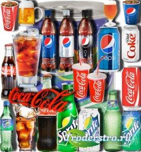 Растровые клипарты - Газированые напитки