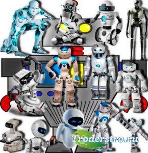 Прозрачные png - Электронные роботы